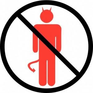 no-devils-allowed-sign